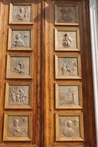 Il portale della Basilica di S.Giuseppe al Trionfale - Roma